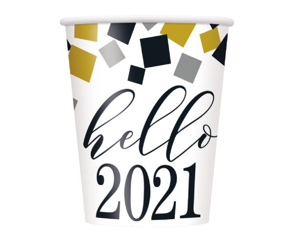 2021 Happy New Year Paper Cups (8)